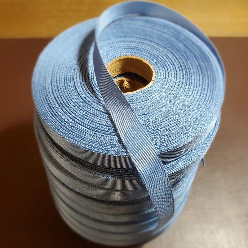 (a) #3 (5/8″) Millinery Grosgrain Ribbon – Dior Blue Yardage