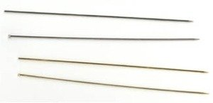 5″ Long Undecorated Hat Pins