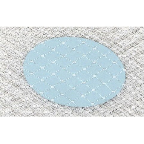 9 English Large Diamond White Swatch