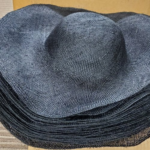 Abaca Sinamay Woven Hat Body