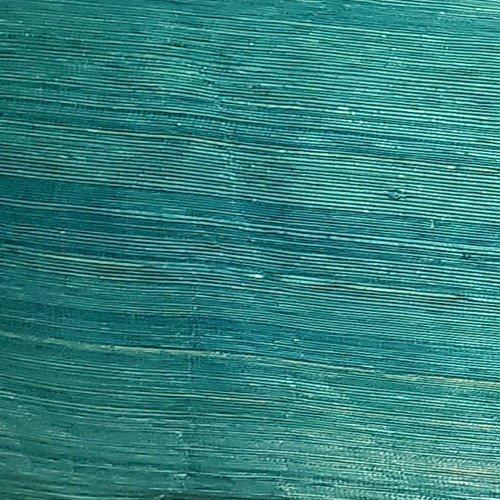 Abailk Abaca Silk Straw Turquoise Swatch