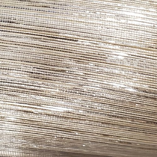 Abailk Silk Straw Natural-Silver Swatch 2