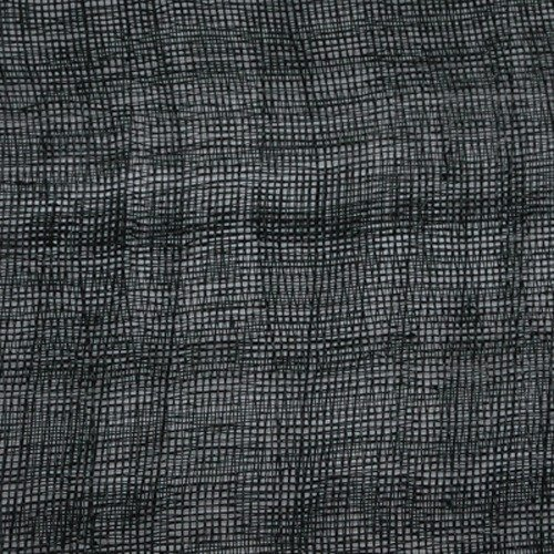 Black 12 Stiffened Sinamay Rolls