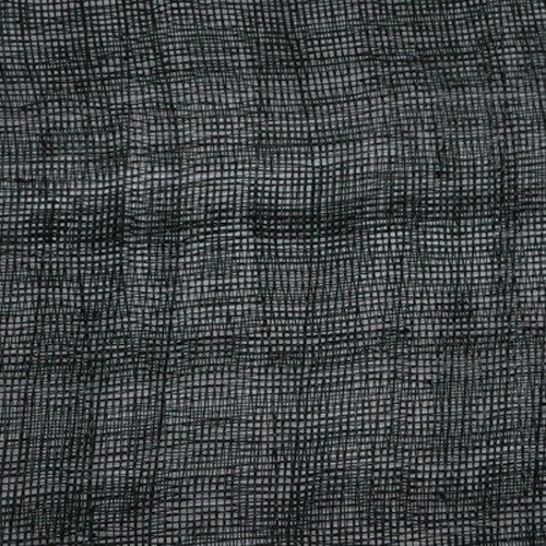 Sinamay Fabric Stiffened – Black 12