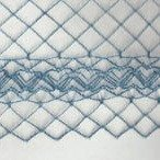 Chicken Wire Ornate Edge Peacock Blue