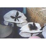 Crochet Paper Collapsible Hat