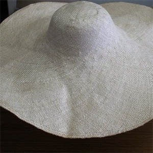 8″ Brim Course Sisal 2″ High Crown
