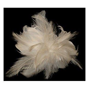 Coquille Hackle Corsage