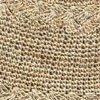 Crochet Hemp Swatch Taupe