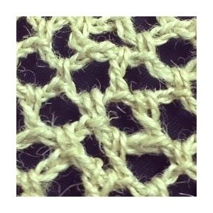 Crochet Jute Brim 2