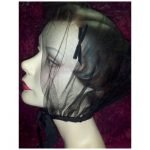 Vintage Cap Veiling With Bows