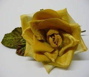 Velvet, Crepe & Satin Rose