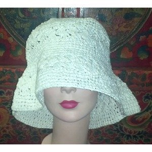 Fancy Paper Crochet Hood