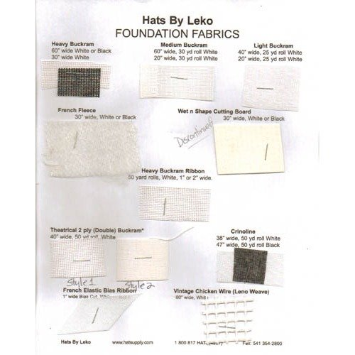 Foundation Fabrics Swatch Card