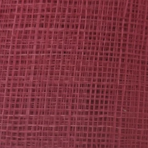 Sinamay Fabric Stiffened – Hot Pink 95
