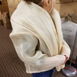 Jacket Made from HBL Albilk Straw Main