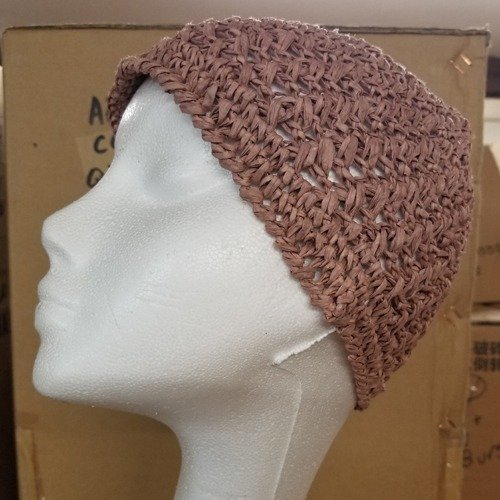 Juliet Crochet Cap Mauve Main