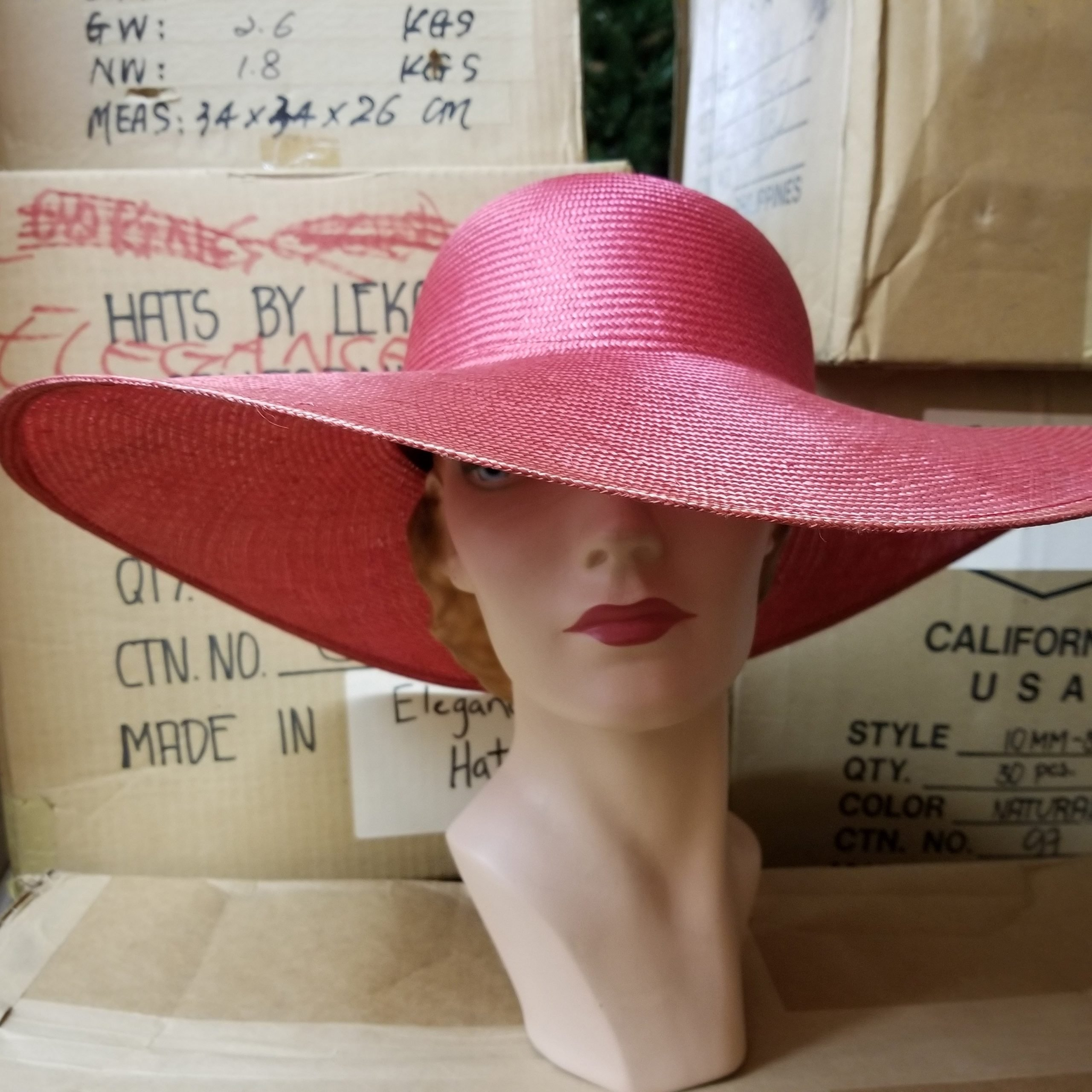 Oh Pleezz Parasisal Hat – Dark French Navy