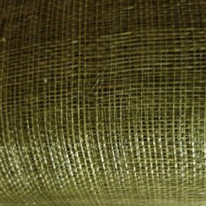 Olive 41 Stiffened Sinamay Swatch