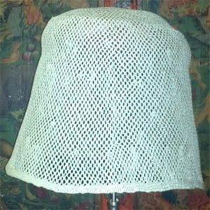 Open Weave Sisal Hood