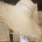 Raffia Capeline Woven Weave With Vented Crown