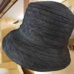 Raffia Ribbon Cloche 2 1/2″ Turned-up Brim