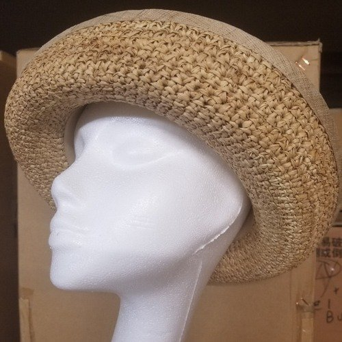 Raffia Crocheted Hat