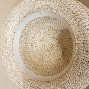 S Crocheted Raffia Inside