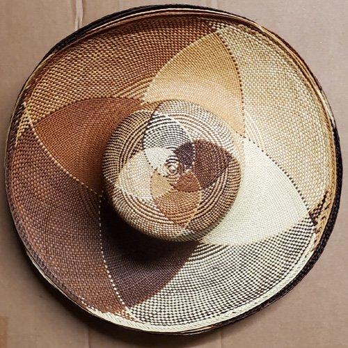 Multi Color Panamas 5″ & 8″ – 5″ Nat/brown/rust/tan