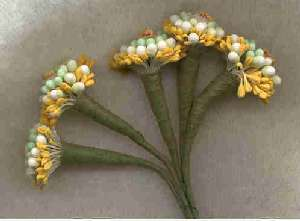 Small Cluster Vintage Stamens