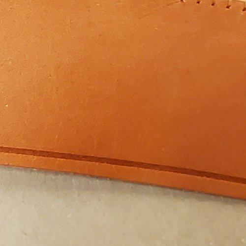 Calf Leather 2″ Sweatbands – Tan