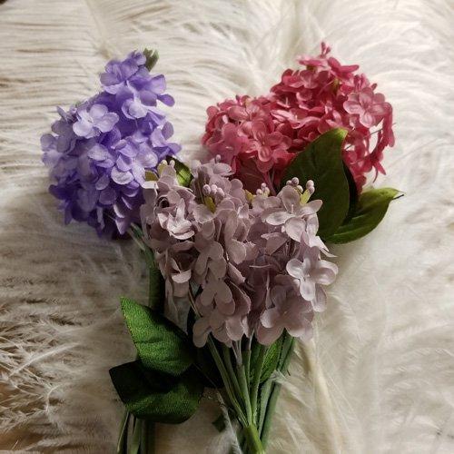 Silk-like Lilacs