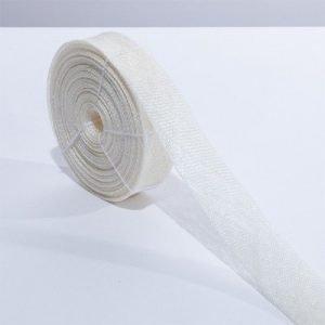 Sinamay Bias Ribbon Ivory