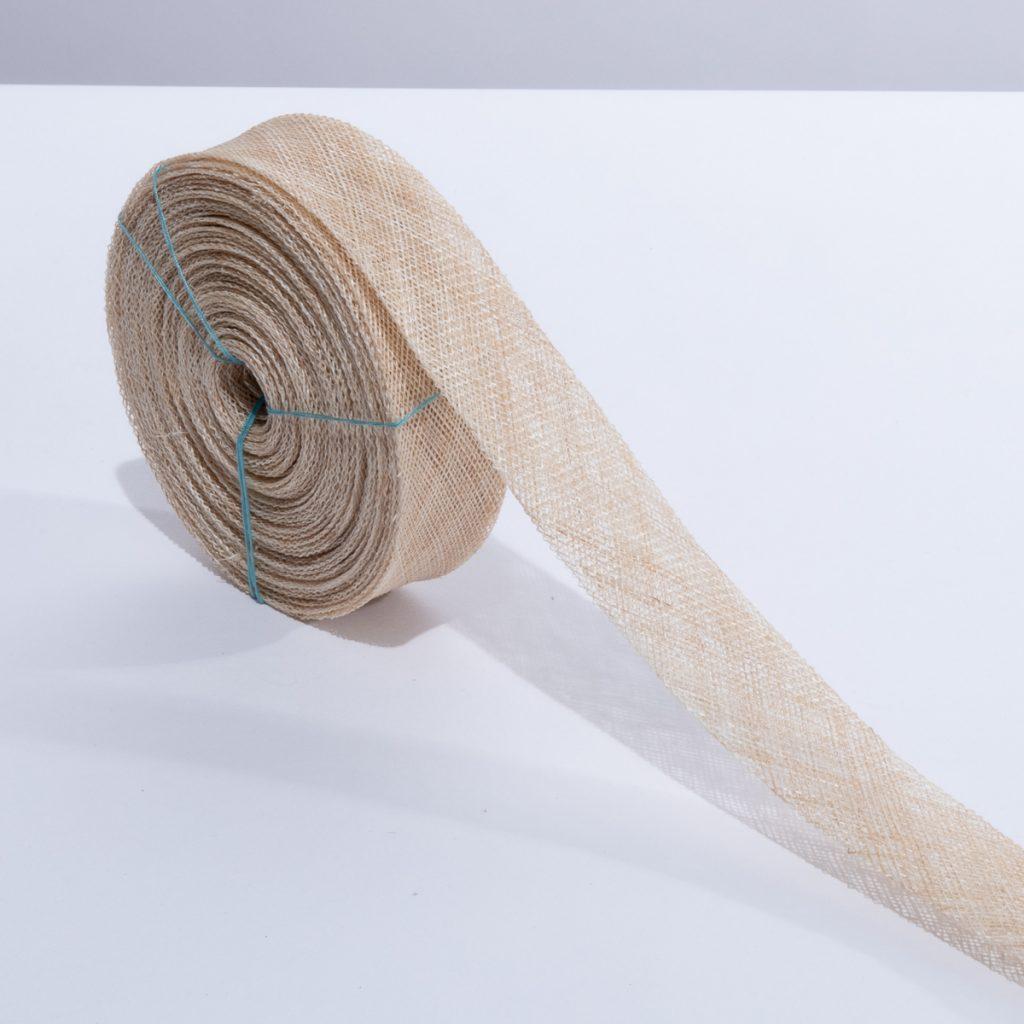 Sinamay Bias Ribbon Natural