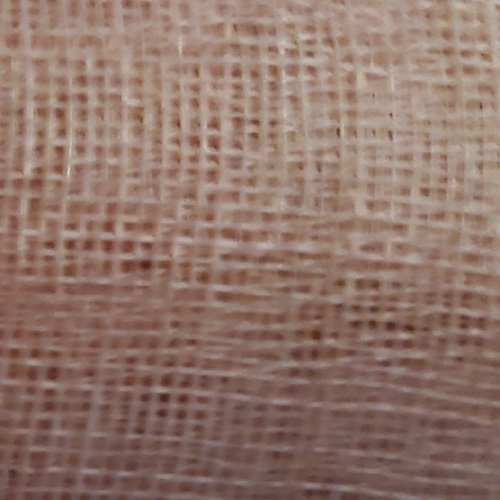 Sinamay Stiffened Fabric Nude Swatch