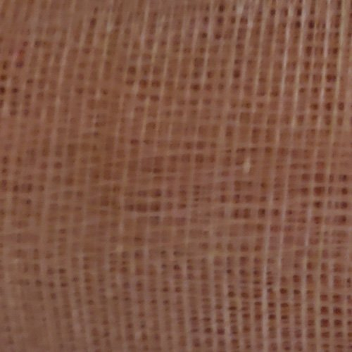 Sinamay Stiffened Fabric Rosewood Swatch