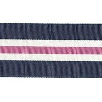Size A Navy White Pink Swatch