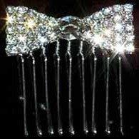 Tiara Bow Comb12700