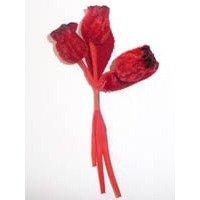 Velvet Buds Red
