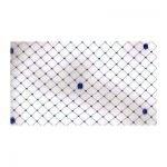 9″ Vintage Chenille Dot 7/8″ Diamond Veiling