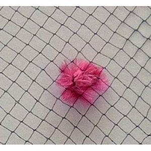 Vintage Chenille Dot 361 Black Pink