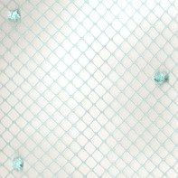 Vintage Chenille Dot 50519 Turquoise Blue Swatch