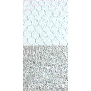 Vintage 9″-18″ Hexagonal Veiling – 12″ Grey