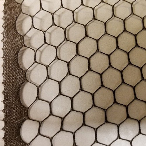 Vintage French 18 Hexagon Fancy Edge 1