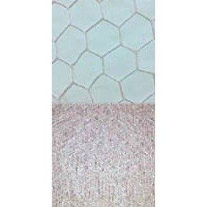 Vintage 9″-18″ Hexagonal Veiling