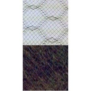 Vintage French Silk 18 Brown 11469