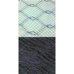 Vintage French Silk 18 Navy 58842 B