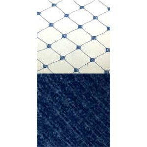 Vintage French Silk 18 Sapphire 1595