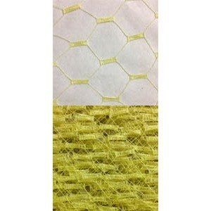 Vintage French Silk 18 Yellow 1454