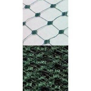 Vintage French Silk Diamond 18 Dark Green